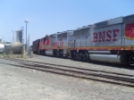 BNSF GP60M #153 & 158