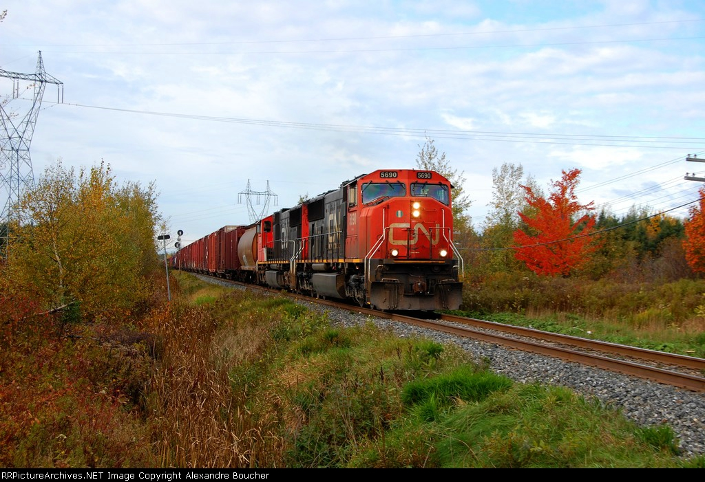 CN 402 advance to CN Carrier