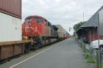 DPU on CN 121 at drummondville