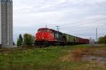 CN 514 at Ste-Perpetue, Mile 85 Drummondville Sub.