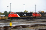 Brand new of CN ES44DC 2314 on the CN 309