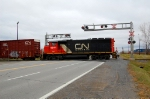 CN 513 in Becancour industrial park