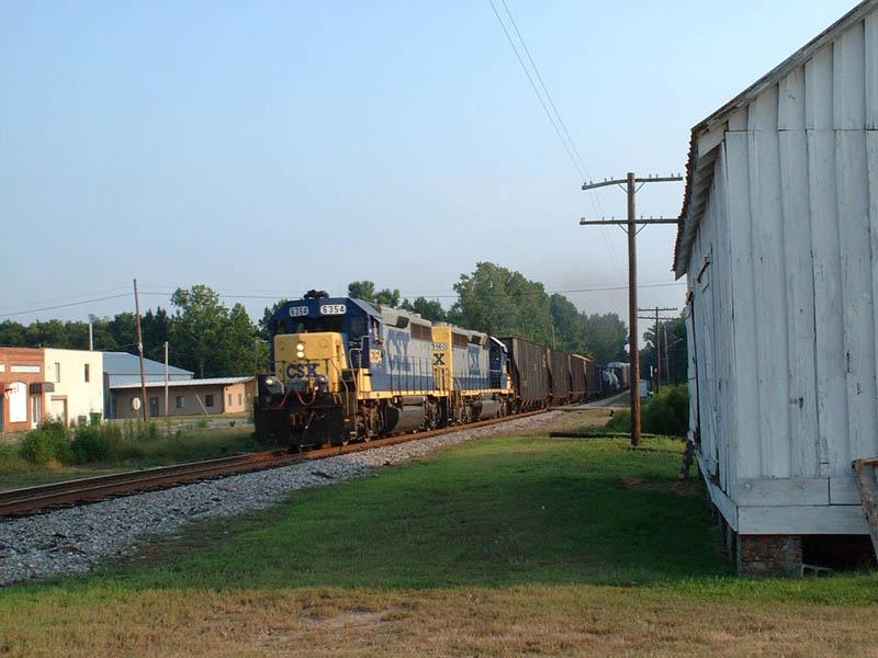 CSX Train F757