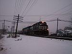 Some train in the dark
