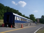 Station for Potomac Eagle Excusion Trains