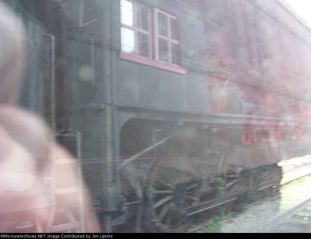 CP 1098 Through a Dirty Window