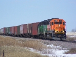 BNSF 3126 with Mismatched Number Boards