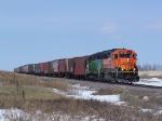 Grain Train on the Grenora Subdivision