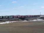 Grain Train on the Grenora Sub
