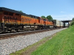 BNSF 7828 and 7319