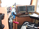 Inside of BNSF 7604