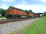 BNSF 7201 and 5035