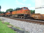 BNSF 5130 and 7482