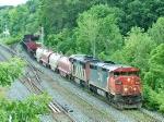 CN 2452 on train 907