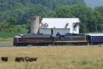 WV Rails/Potomac Eagle Excursion w/B&O 722