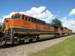 BNSF 1087, 4982 & 4085