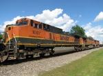 BNSF 1087, 4982 & 4085