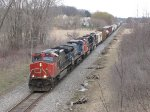 M336 heads south led by CN 2684
