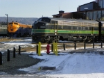 F Units at Steamtown