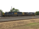 CSX 8613 and 67