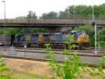 CSX 67 and 8613