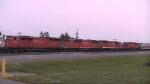 3 Red Barns and an SD40-2