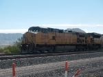 UP 9808 leads a WB autorack at 10:29am
