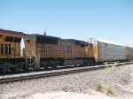 UP 4982 #2 power in an EB ZLAMN doublestack at 11:54am
