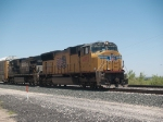 UP 4892 leads an EB autorack at 12:09pm