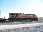 UP 5488 rear DPU in a WB doublestack at 10:12am