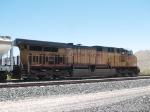 UP 7300 rear DPU in a WB grain train at 12:28pm