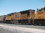 UP 4961 #3 power in an EB manifest at 12:55pm