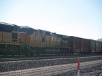 UP 9653 #2 power in a WB manifest at 9:05am