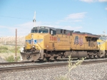 UP 5300 leads an EB doublestack (KGSMN2-07) at 9:29am