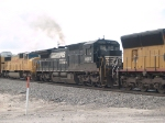 NS 8697 #2 power in a WB autorack at 11:40am