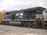 NS 7673 #3 power in a WB doublestack at 10:18am