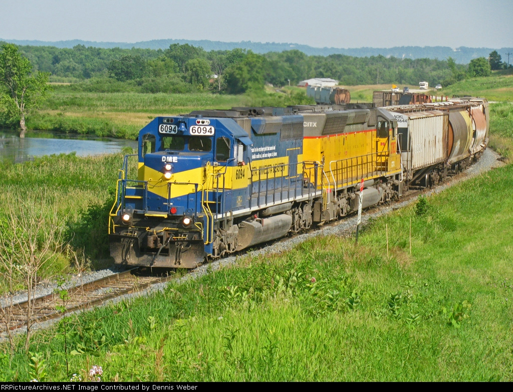 DM&E  6094,  ICE's   Marquette  Sub.