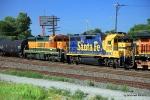BNSF 1553 and 2198 at 23rd St