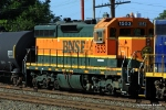 BNSF 1553 is part of a pool of BNSF SD9's that are hanging tough