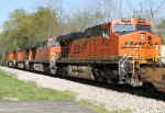 BNSF power heading for Atlanta