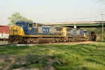 CSX NB freight with no crew