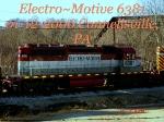 WE 6381  SD40-2  01/12/2006