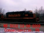 WE 3016   SD40-3  12-06-2005