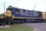 CSX 7058 on Waycross bound freight