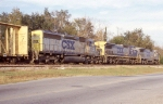 Three different CSX paint schemes!!!