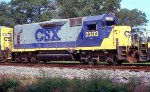 CSX 2303 on WB freight