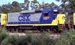 CSX 2227 on WB freight