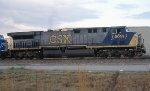 CSX 5014 grain train power