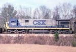 CSX 7029 on the local from Dothan