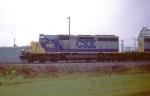 CSX 8163 leading a SB freight
